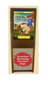 The Incredible Poultry Door - CLICK HERE FOR PRICE